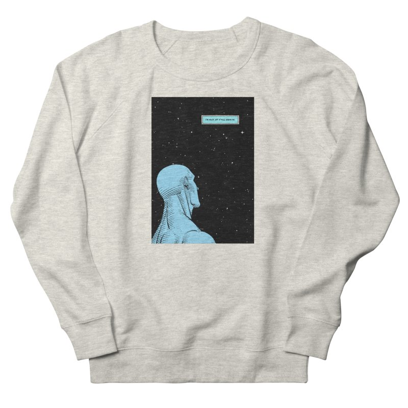 Ennui For Us Men's French Terry Sweatshirt by FWMJ's Shop
