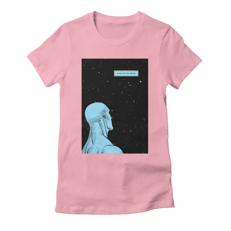 Ennui For Us Women's Fitted T-Shirt by FWMJ's Shop