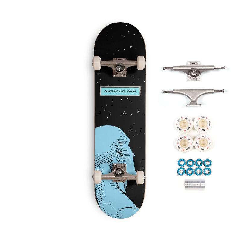 Ennui For Us Accessories Skateboard by FWMJ's Shop