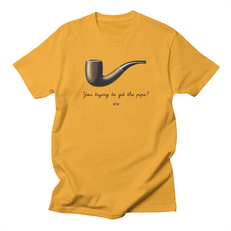 #ShootYourShot in Men's T-shirt Gold by FWMJ's Shop