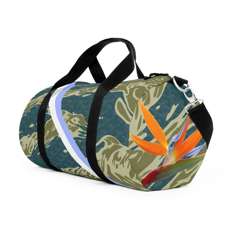Tigers & Paradise Accessories Duffel Bag Bag by FWMJ's Shop
