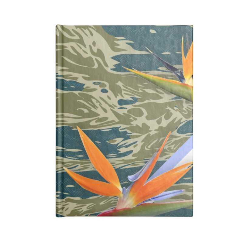 Tigers & Paradise Accessories Blank Journal Notebook by FWMJ's Shop