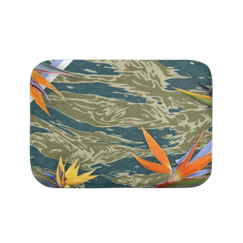 Tigers & Paradise Home Bath Mat by FWMJ's Shop