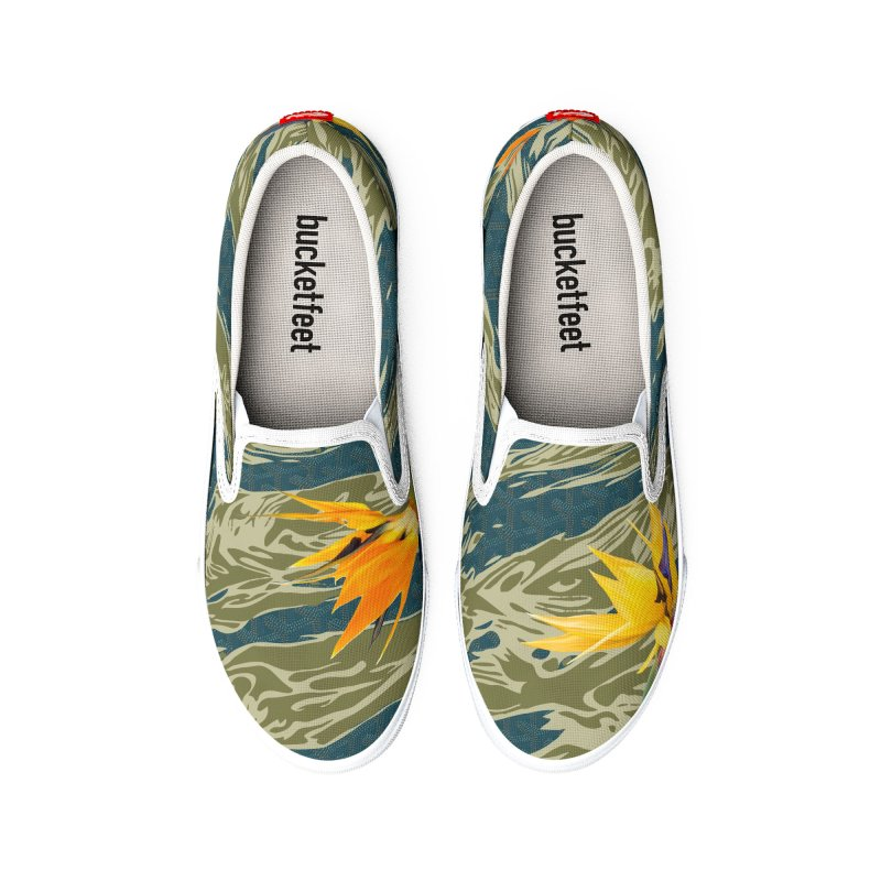 Tigers & Paradise Men's Shoes by FWMJ's Shop