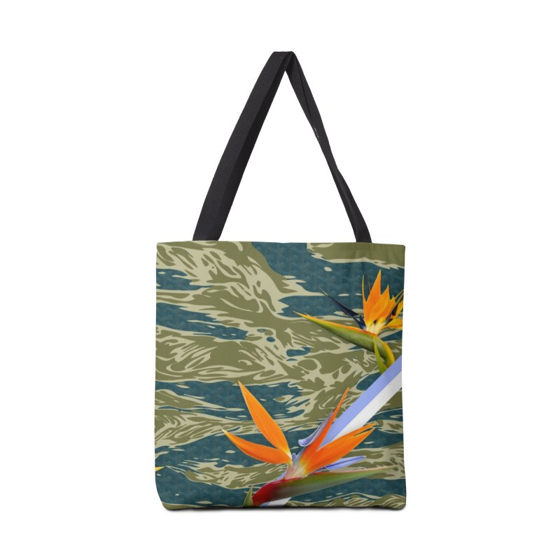 Tigers & Paradise Accessories Bag by FWMJ's Shop
