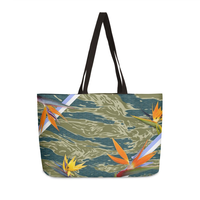 Tigers & Paradise Accessories Weekender Bag Bag by FWMJ's Shop