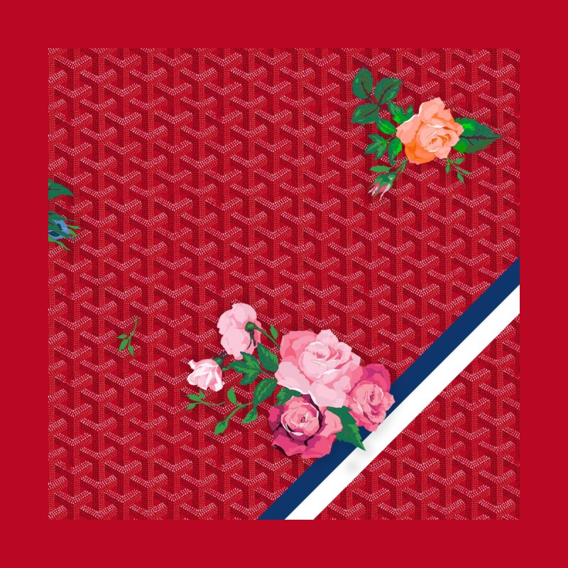 Jardin Goyard (Rouge) Men's All Over Print by FWMJ's Shop