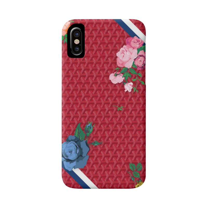 Jardin Goyard (Rouge) Accessories Phone Case by FWMJ's Shop