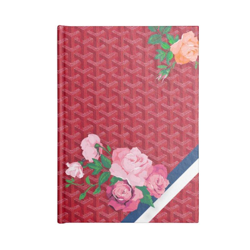 Jardin Goyard (Rouge) Accessories Notebook by FWMJ's Shop