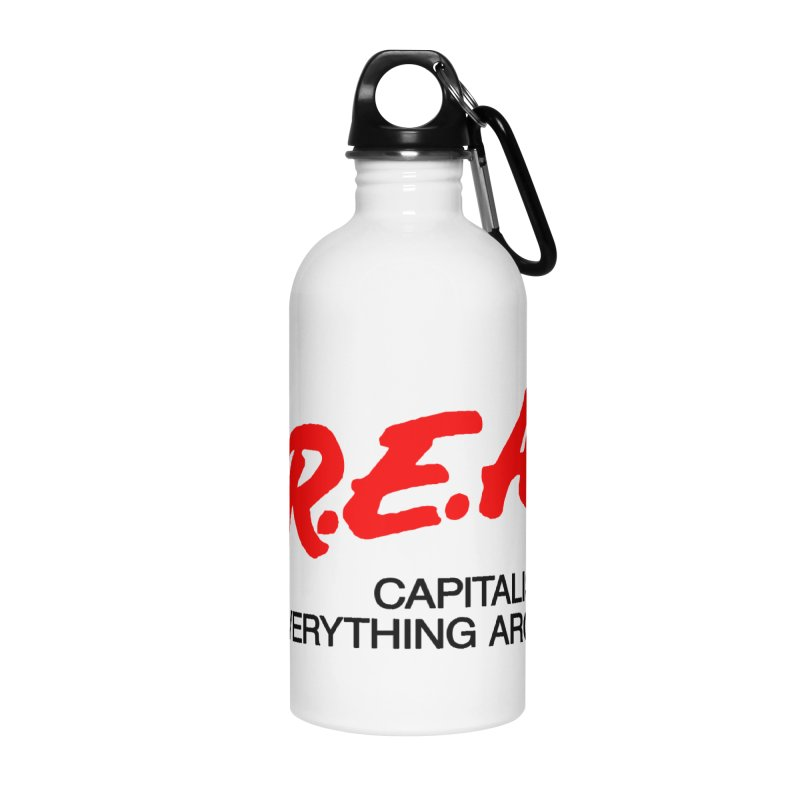 Capitalism Ruins Everything Around Me Accessories Water Bottle by FWMJ's Shop