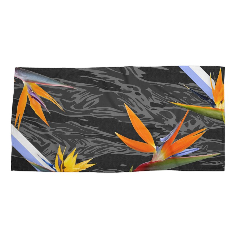Tigers & Paradise (Shadow) Accessories Beach Towel by FWMJ's Shop