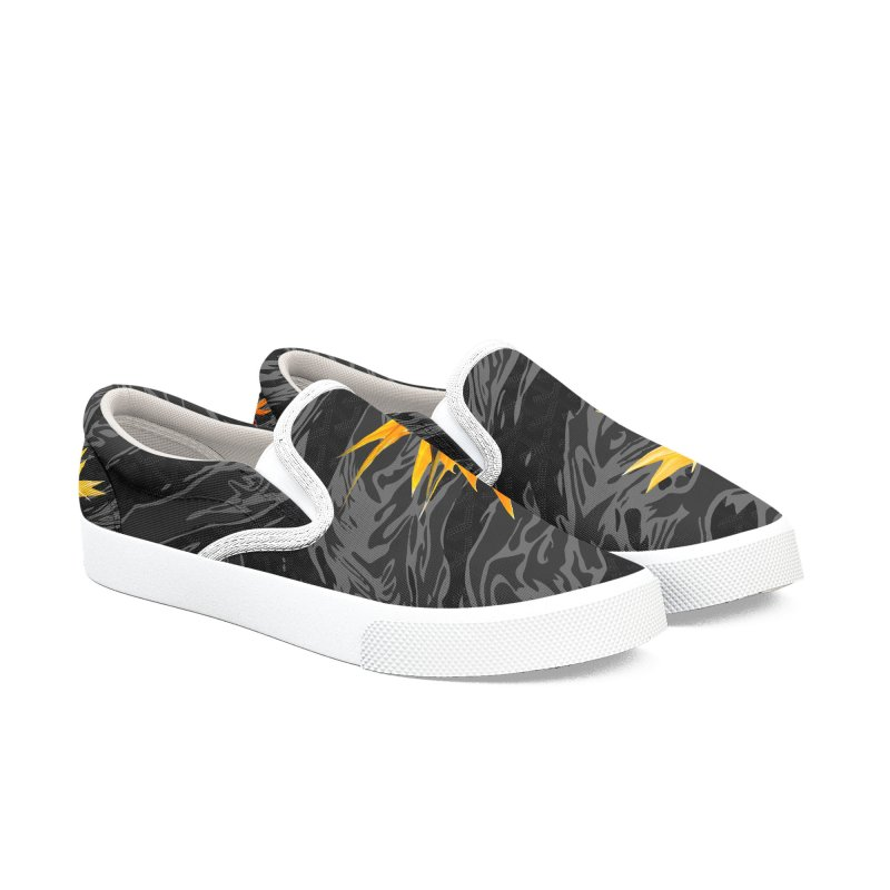 Tigers & Paradise (Shadow) Men's Slip-On Shoes by FWMJ's Shop