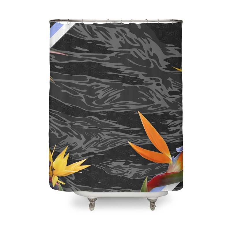 Tigers & Paradise (Shadow) Home Shower Curtain by FWMJ's Shop