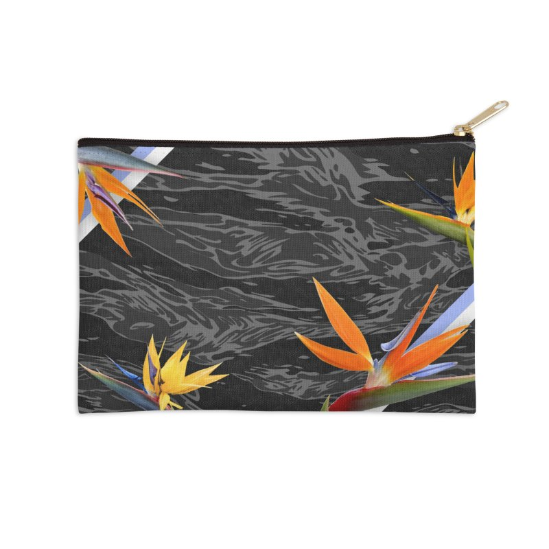 Tigers & Paradise (Shadow) Accessories Zip Pouch by FWMJ's Shop