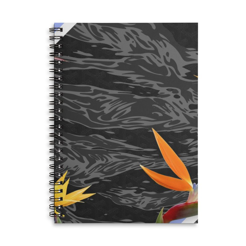 Tigers & Paradise (Shadow) Accessories Lined Spiral Notebook by FWMJ's Shop