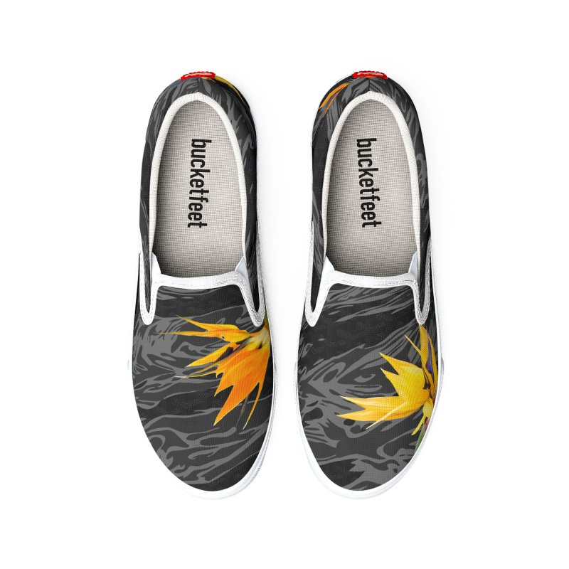 Tigers & Paradise (Shadow) Men's Shoes by FWMJ's Shop