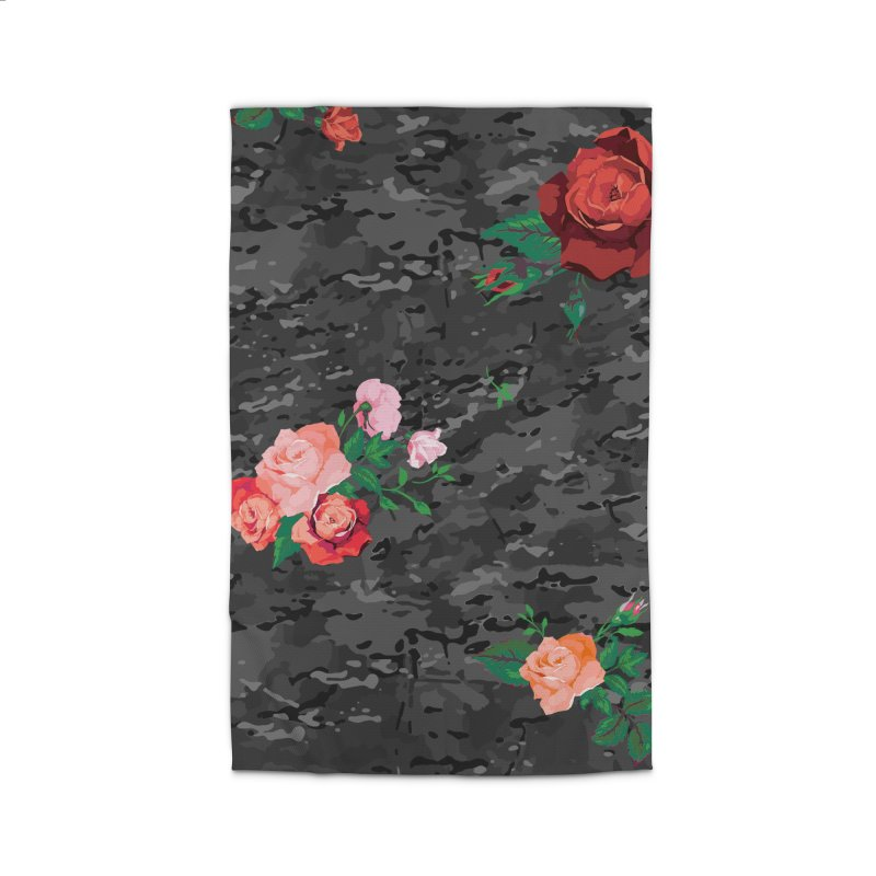 Florals & MultiCAM (Shadow) Home Rug by FWMJ's Shop