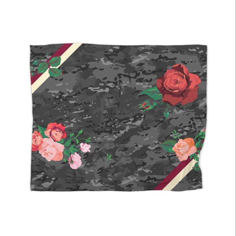 Florals & MultiCAM (Shadow) Home Blanket by FWMJ's Shop