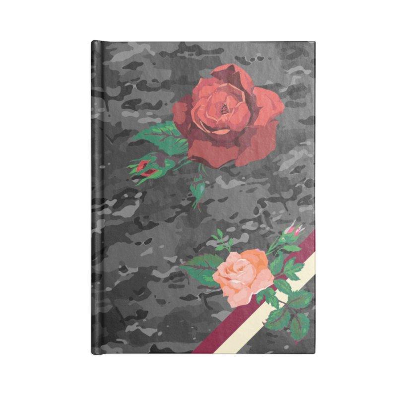 Florals & MultiCAM (Shadow) Accessories Notebook by FWMJ's Shop