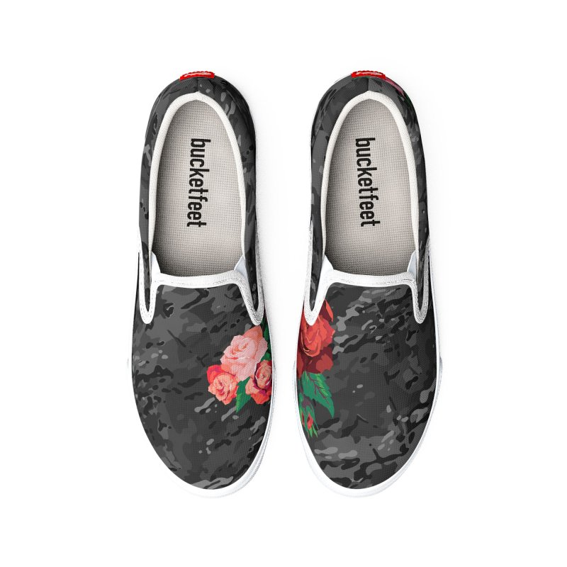 Florals & MultiCAM (Shadow) Men's Shoes by FWMJ's Shop