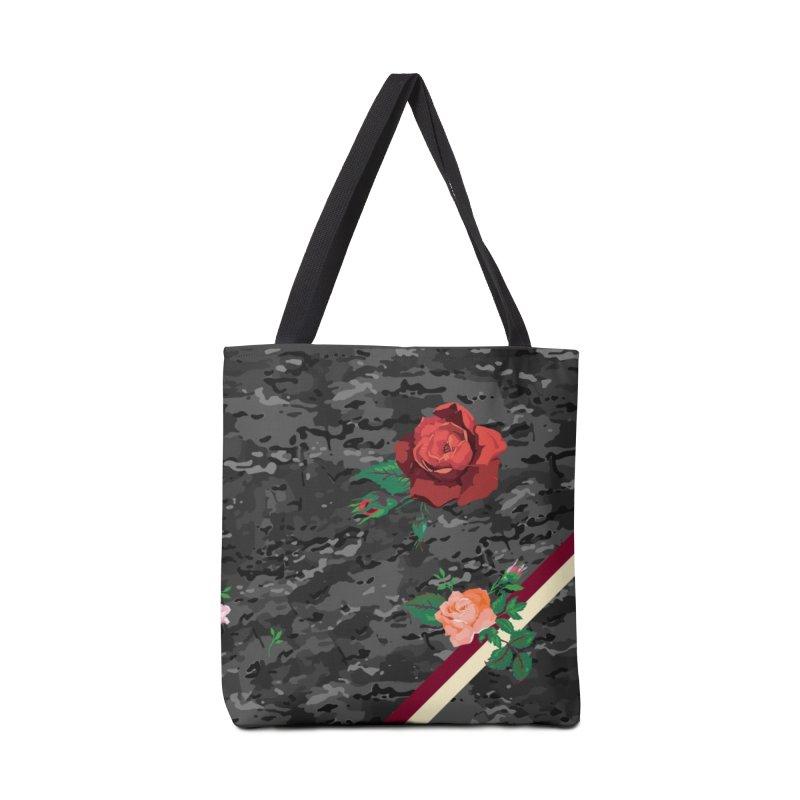 Florals & MultiCAM (Shadow) Accessories Bag by FWMJ's Shop