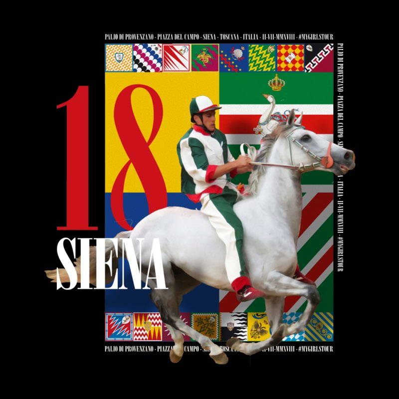 Palio di Siena № 2 Women's Sweatshirt by FWMJ's Shop