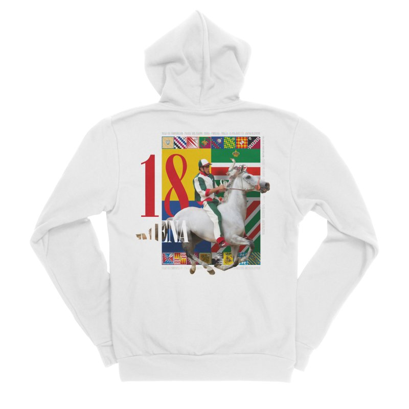 Palio di Siena № 2 Women's Zip-Up Hoody by FWMJ's Shop