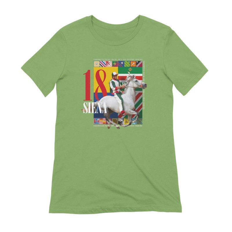 Palio di Siena № 2 Women's Extra Soft T-Shirt by FWMJ's Shop