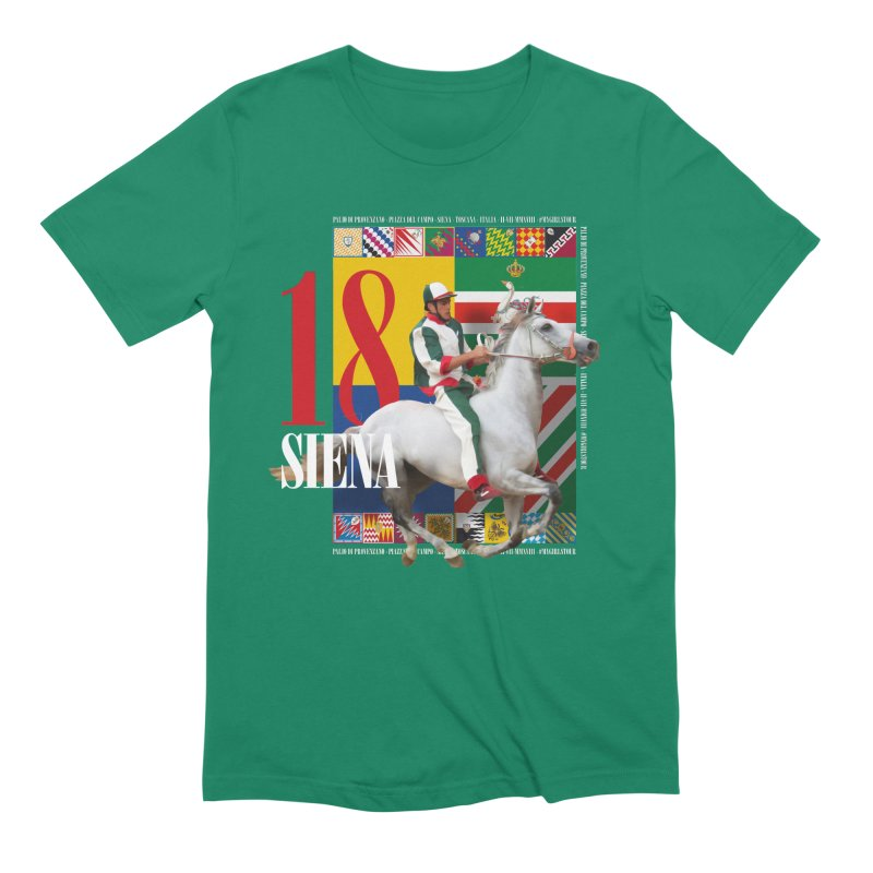 Palio di Siena № 2 Men's Extra Soft T-Shirt by FWMJ's Shop