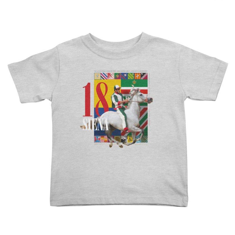 Palio di Siena № 2 Kids Toddler T-Shirt by FWMJ's Shop