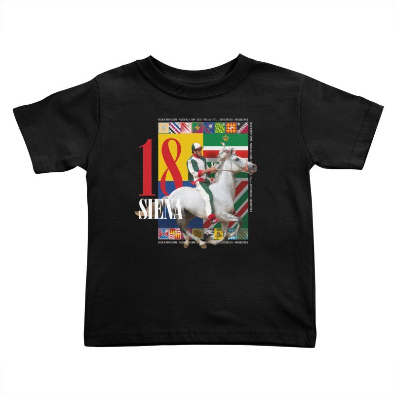 Palio di Siena № 2 Kids Toddler T-Shirt by FWMJ's Shop