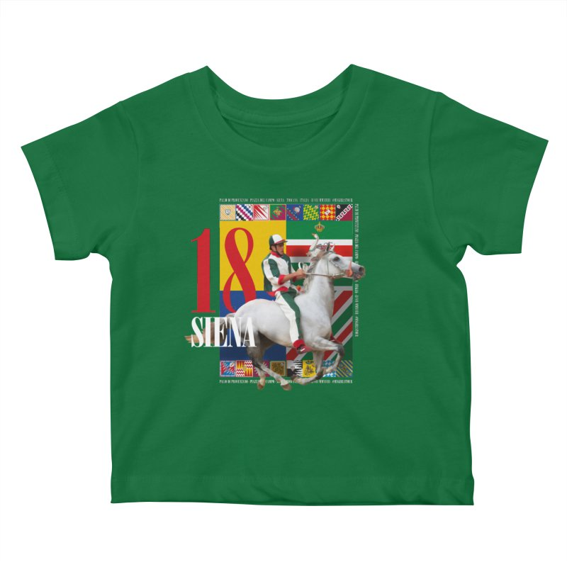 Palio di Siena № 2 Kids Baby T-Shirt by FWMJ's Shop