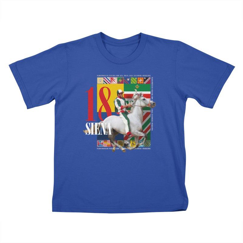 Palio di Siena № 2 Kids T-Shirt by FWMJ's Shop