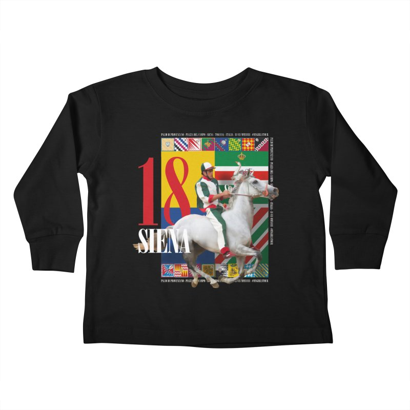 Palio di Siena № 2 Kids Toddler Longsleeve T-Shirt by FWMJ's Shop
