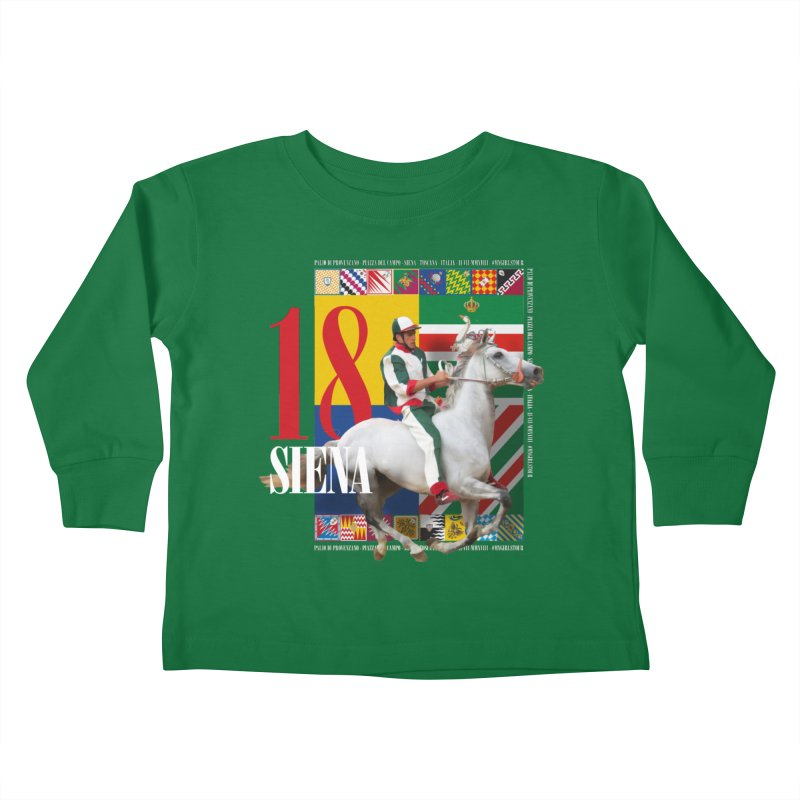 Palio di Siena № 2 Kids Toddler Longsleeve T-Shirt by FWMJ's Shop