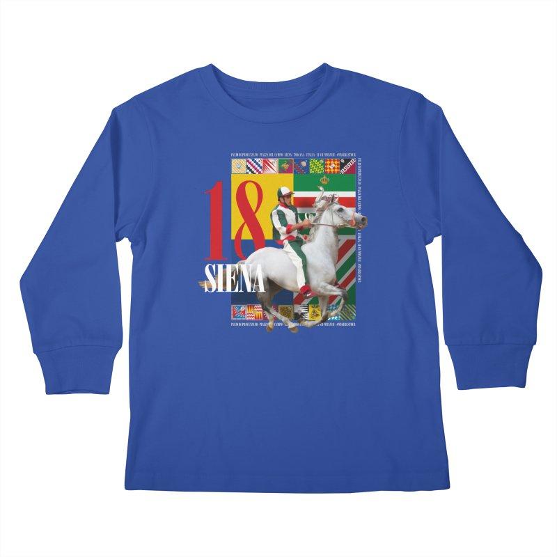 Palio di Siena № 2 Kids Longsleeve T-Shirt by FWMJ's Shop