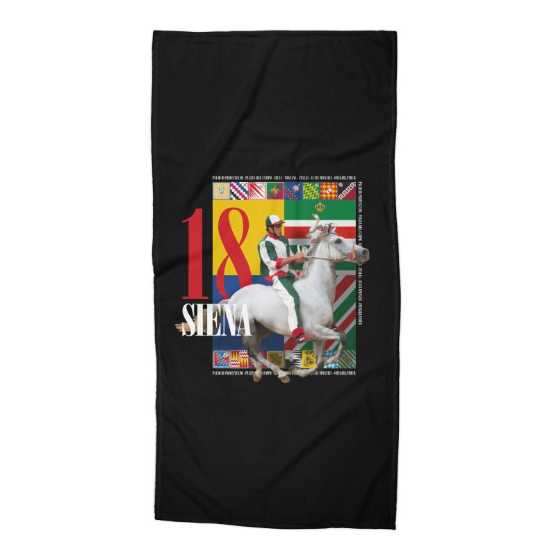 Palio di Siena № 2 Accessories Beach Towel by FWMJ's Shop