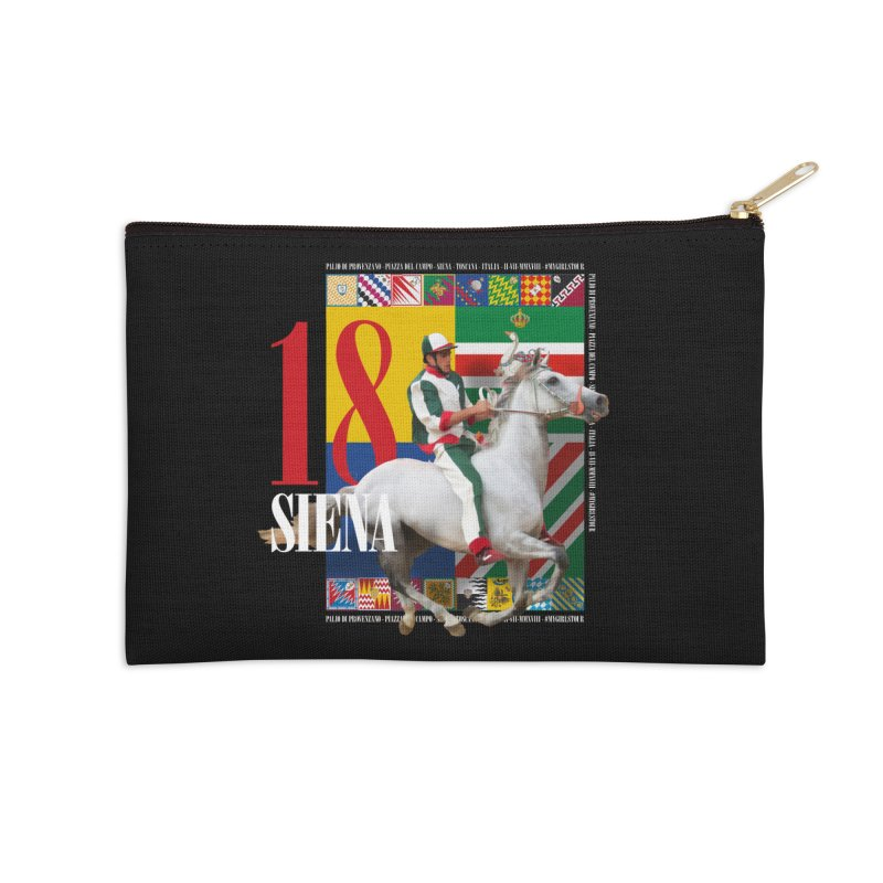 Palio di Siena № 2 Accessories Zip Pouch by FWMJ's Shop