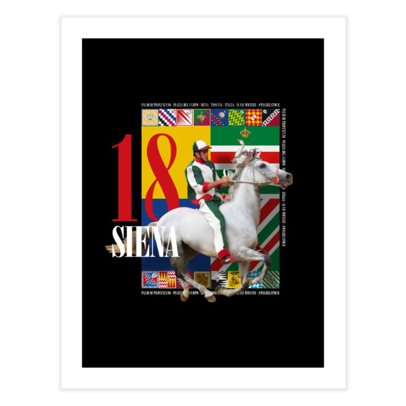 Palio di Siena № 2 Home Fine Art Print by FWMJ's Shop