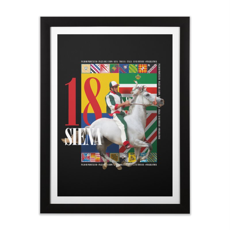 Palio di Siena № 2 Home Framed Fine Art Print by FWMJ's Shop