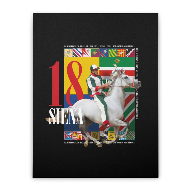 Palio di Siena № 2 Home Stretched Canvas by FWMJ's Shop