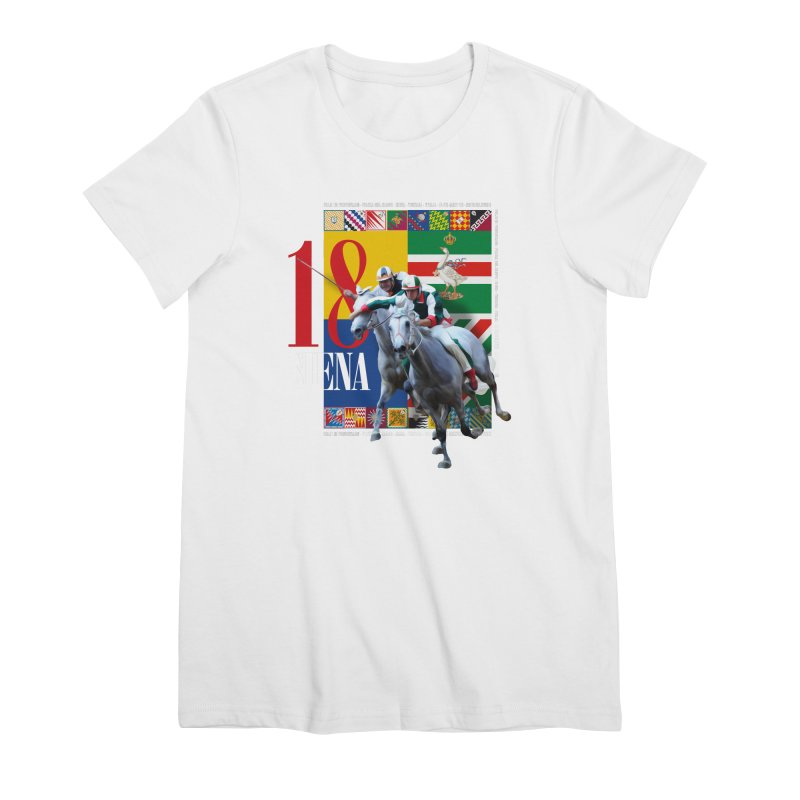 Palio di Siena № 1 Women's Premium T-Shirt by FWMJ's Shop