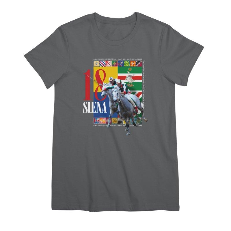 Palio di Siena № 1 Women's Premium T-Shirt by FWMJ's Shop
