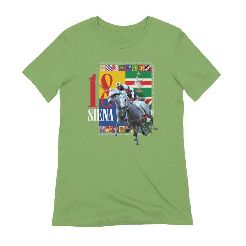 Palio di Siena № 1 Women's Extra Soft T-Shirt by FWMJ's Shop