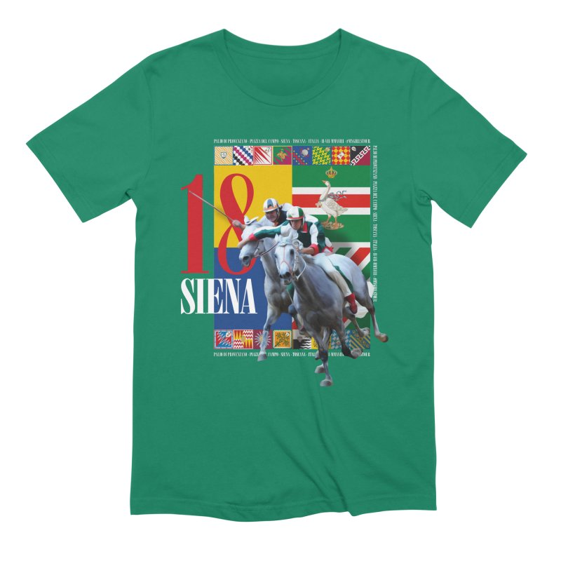 Palio di Siena № 1 Men's Extra Soft T-Shirt by FWMJ's Shop