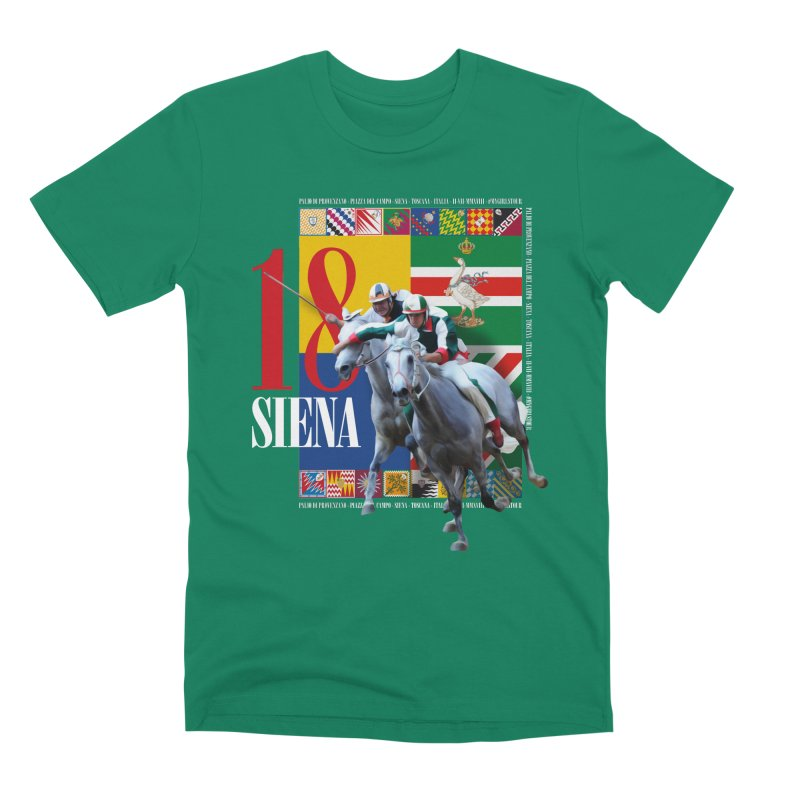 Palio di Siena № 1 Men's Premium T-Shirt by FWMJ's Shop