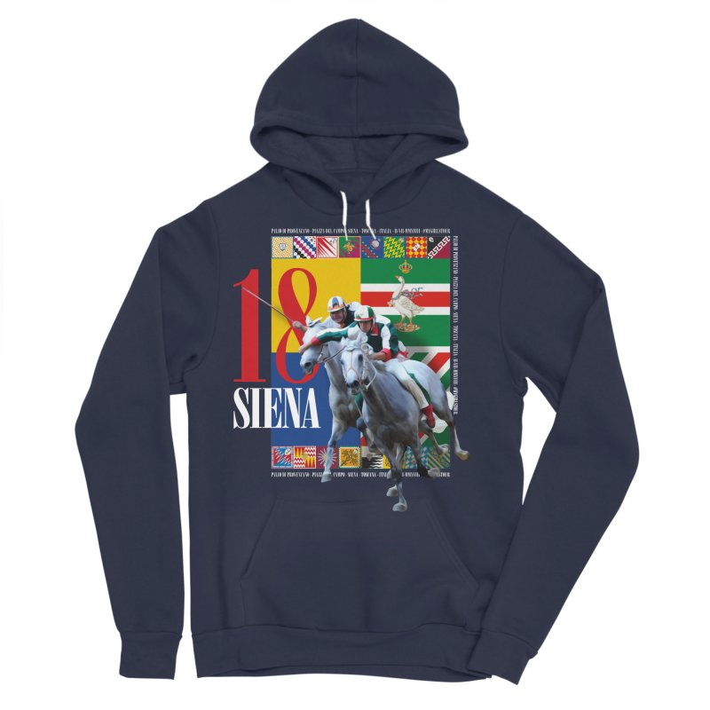 Palio di Siena № 1 Women's Sponge Fleece Pullover Hoody by FWMJ's Shop