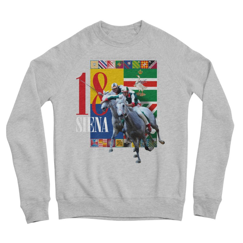 Palio di Siena № 1 Men's Sponge Fleece Sweatshirt by FWMJ's Shop