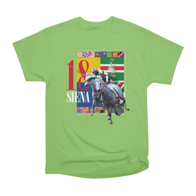 Palio di Siena № 1 Men's Heavyweight T-Shirt by FWMJ's Shop