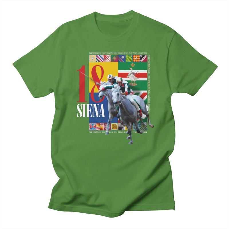 Palio di Siena № 1 Women's Regular Unisex T-Shirt by FWMJ's Shop